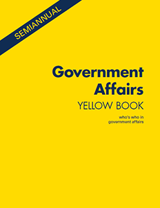 Government Affairs Yellow Book