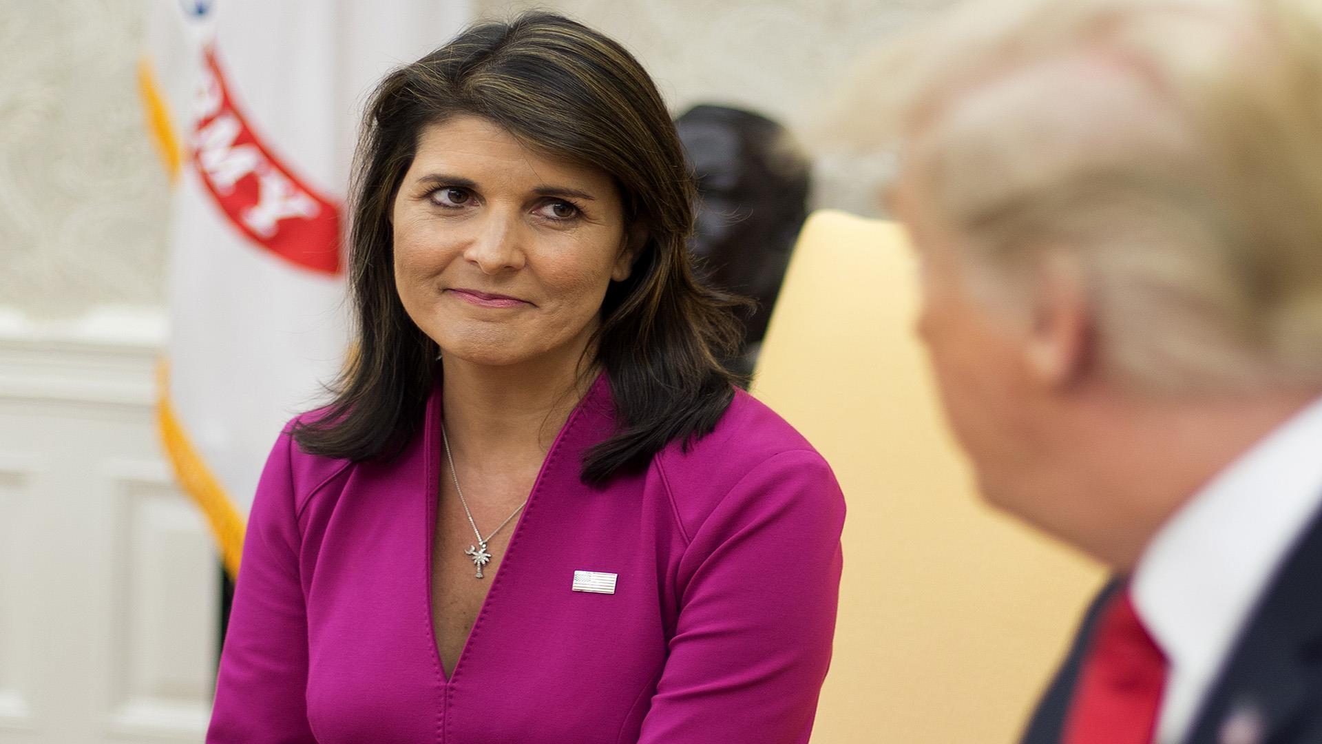 Nikki Haley Resigns as U.S. Ambassador to the United ...